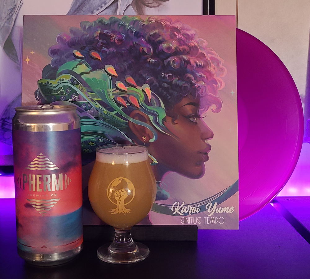 Pherm Brewing's Space Cadet Glow Paired with Sinitus Tempo